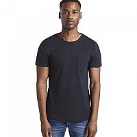 [해외]TOM TAILOR Structured T-셔츠 Sky Captain Blue Non-Solid