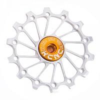 [해외]KCNC Jockey Wheel 울트라 스램 X Sync 롱 티th Narrow/Wide 12D Silver