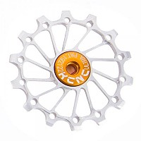 [해외]KCNC Jockey Wheel 울트라 스램 X Sync 롱 티th Narrow/Wide 14D Silver