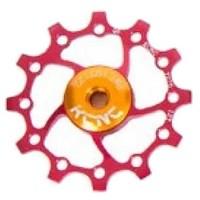 [해외]KCNC Jockey Wheel 스램 X Sync 롱 티th 14D Red