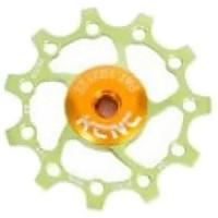 [해외]KCNC Jockey Wheel 스램 X Sync 롱 티th 14D Green