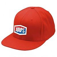 [해외]100% 아이콘 Flexfit Hat Red