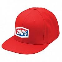 [해외]100% Gorra 에센셜 J-피트 Flexfit Roja Red