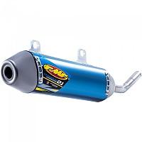 [해외]FMF Power코어 2.1 Slip On Titanium Anodized Blue