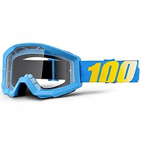 [해외]100% Strata Goggle Blue