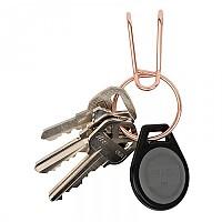[해외]NITE IZE SqueezeRing Easy Load Key Clip Key Ring 4137499107 Rose Gold