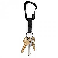 [해외]NITE IZE SlideLock Stainless Steel Carabiner Key Ring 4137499108 Black