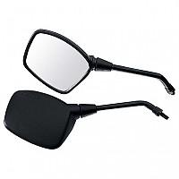 [해외]POLO Handlebar Mounted Mirror 14 Rectangular Right 9136433783 Black