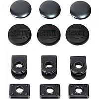 [해외]SPIRIT MOTORS Trouser Rubber 버튼 위드 Hook 16 mm 3 Units Black