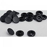 [해외]POLO PU Snap 버튼s 2 Pieces 세트 Black