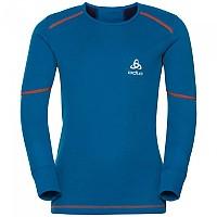 [해외]오들로 X Warm 셔츠 L/S 크루 넥 Mykonos Blue