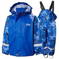 [해외]헬리한센 Bergen AOP PU Rainset Kid Olympian Blue