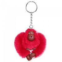 [해외]키플링 Monkey Clip S Key Ring True Pink