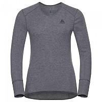 [해외]오들로 셔츠 L/S V-neck Warm Grey Melange