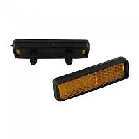 [해외]POINT Pedal Reflectors 4 Units 1137491737 Black
