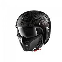 [해외]샤크 S-Drak 2 Carbon Dagon Convertible Helmet 9137370391 Carbon / Anthracite