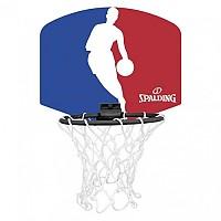 [해외]스팔딩 NBA Logoman Mini Basketball Backboard 31270872 Blue / Red / White