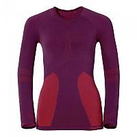 [해외]오들로 셔츠 L/S 크루 넥 에보lution Warm Magenta Purple Pomegranate