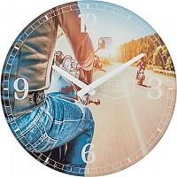 [해외]SPIRIT MOTORS Wall Clock Multicolour