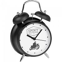 [해외]SPIRIT MOTORS Retro 모터사이클 Alarm Clock Black