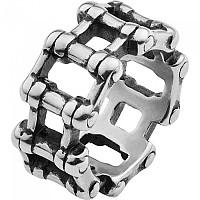 [해외]SPIRIT MOTORS Stainless 스틸 Ring 모터사이클 Chain Silver