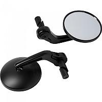 [해외]HASHIRU Barend Mirror Pair For 18 mm Inside 9137515313 Black
