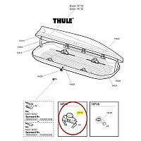 [해외]툴레 Touring FastClick Roof Box Clamp 137552370 Black