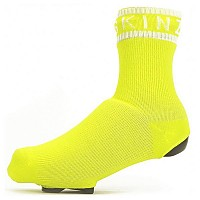 [해외]SEALSKINZ Waterproof All Weather Oversock 1137564682 Neon Yellow / White