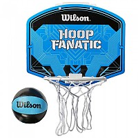 [해외]윌슨 Hoop Fanatic Mini Hoop 3137093419 Blue / Black