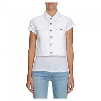 [해외]캘빈클라인 JEANS Fitted Vest White Rwh Embroidery