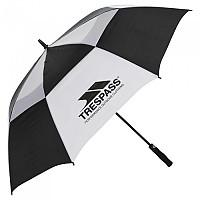 [해외]TRESPASS Catterick Umbrella 4136808105 Black / White