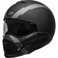 [해외]BELL Broozer Convertible Helmet 9137569431 Arc Matte Black / Grey