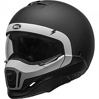 [해외]BELL Broozer Convertible Helmet 9137569432 Cranium Matte Black / White