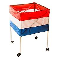 [해외]POWERSHOT Folding Ball Cart For 20 Balls Multicoloured