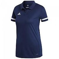 [해외]아디다스 Team 19 Polo Tall 3137281035 Navy Blue / White