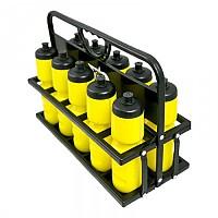 [해외]POWERSHOT Water Bottle Carrier 위드 10 Bottles Black / Yellow