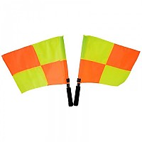[해외]POWERSHOT Assistant Referee Flags Orange / Yellow