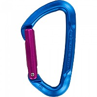 [해외]클라이밍테크놀로지 Berry Carabiner S 4137484493 Blue Body / Purple Gate
