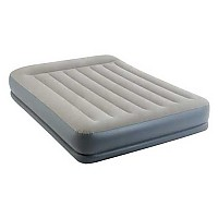 [해외]인텍스 Standard Pillow Rest Midrise Inflatable Mattress 4137566089 Grey