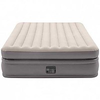 [해외]인텍스 Prime Comfort Elevated Inflatable Double Mattress 4137566133 Beige / Grey