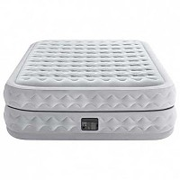 [해외]인텍스 Supreme Air-Flow Double Air Bed With Fiber-Tech 4137566136 Grey