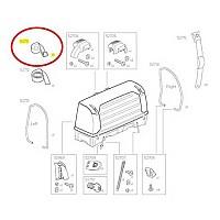 [해외]툴레 BackSpace XT Rear Load Strap With Zinc Buckle 137552449 Black