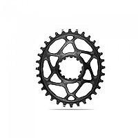 [해외]ABSOLUTE BLACK Oval 스램 DM Boost 3 mm 오프set For Shimano HG+ Black
