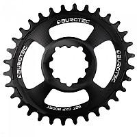 [해외]BURGTEC GXP Boost 3 mm 오프set Oval Thick 씬 Chainring Black