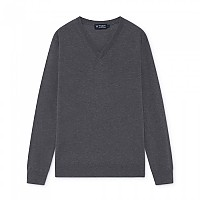 [해외]HACKETT Wool Silk Cashmere V-넥 Grey Marl