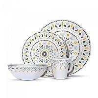 [해외]OLPRO Whitbourne Melamine 세트 16 Pieces White