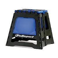 [해외]POLISPORT Bike Stand Foldable 137613775 Blue Yamaha 98 / Black