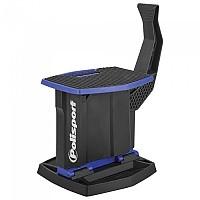 [해외]POLISPORT Lift Bike Stand Foldable 137613795 Blue Yamaha 98 / Black
