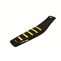 [해외]POLISPORT Seat Cover Zebra Husqvarna FC/TC/FX/TX 16-18 FE/TE 17-19 Yellow / Black