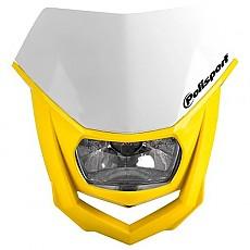 [해외]POLISPORT Halo 9137613557 White / Yellow RM 01